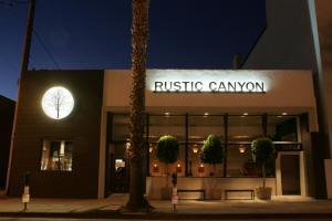 Rustic Canyon Restaurant