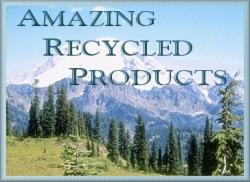Amazing Recycled Products